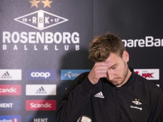 Bendtner may have his contract terminated at Rosenborg. AFP