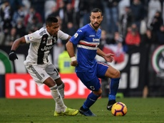 Les compos probables du match de Serie A entre la Sampdoria et la Juventus. AFP