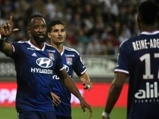 Dembélé, objetivo del United para el mercado de invierno. AFP