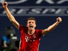 Thomas Muller efface un record de Schweinsteiger. afp