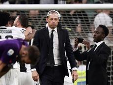 Allegri confirmó su continuidad en la Juventus. AFP