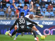Lille prend la tête en attendant Rennes. AFP