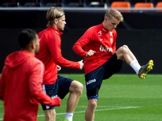 Odegaard se encamina hacia la Bundesliga. AFP