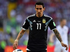 Angel Di Maria is a potential target for Inter. AFP