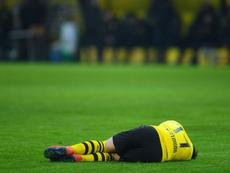 El atacante se lesionó ante el Werder Bremen. AFP