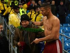 Richarlison alabó al colombiano. AFP