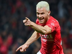 Les compos probables du match de Ligue 1 entre Dijon et Nîmes. AFP