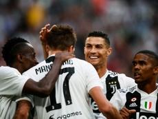 Pirlo veut un nouvel attaquant pour Cristiano. AFP