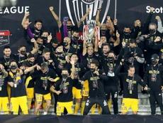 Tigres é o campeão da Concacaf em 2020. AFP