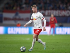 Man United intensifie les contacts avec Werner. AFP