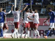 Lyon vence com bela exibição de Memphis Depay. AFP