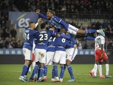 Certains joueurs strasbourgeois positifs après une fête. AFP