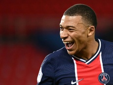 Mbappe keeps on rejecting PSG's offers. AFP