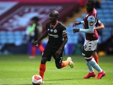 El Chelsea saca a subasta a Kanté. AFP