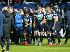 El estadio del Troyes ha vivido días mejores. AFP/Archivo