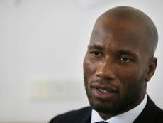 Drogba opta a presidir la Federación de Fútbol de su país. AFP