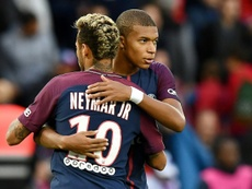 Mbappe insists Neymar is more of a superstar than him. AFP