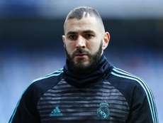 Benzema has denied the allegations. AFP