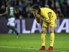PSG empata em Saint-Étienne. AFP