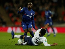 Kanté ne veut pas du club français. AFP