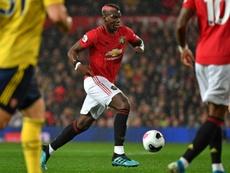Manchester United já dá por certa a saída de Pogba. AFP