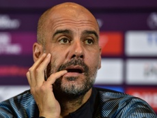 Guardiola considera injustas las críticas. AFP