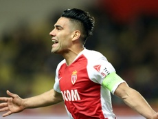 El Galatasaray confirmó negociaciones con el Mónaco por Falcao. AFP