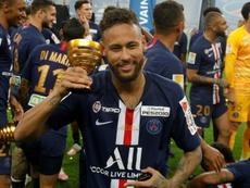 El increíble récord de Neymar en el PSG. AFP