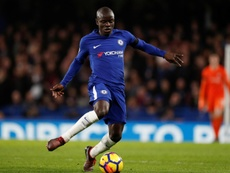 Kante has been a mainstay at Chelsea since his arrival. AFP