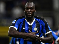 Lukaku é alvo de racismo em Cagliari. AFP