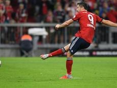 O Bayern Munique bateu o Hoffenheim por 3-1. AFP