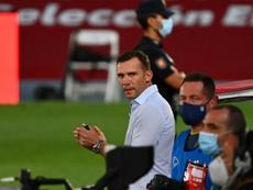 Andreï Chevtchenko regrette la situation de son équipe. AFP