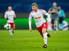 O RB Leipzig bateu o Zenit por 2-1. AFP