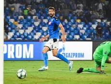 Llorente apunta al Benevento. AFP