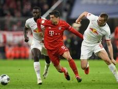 Klostermann has renewed his Leipzig deal. AFP