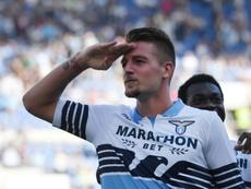 Milinkovic-Savic acuerda su contrato con la Juventus. AFP