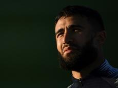 Fekir, con ganas de ser grande en el Betis. AFP