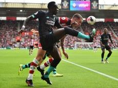 El Liverpool prepara un nuevo contrato para Sadio Mané. AFP