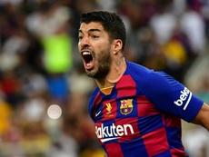 Luis Suárez reçoit le feu vert médical du Barça. AFP