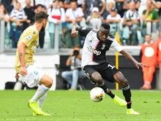 Matuidi podría renovar con la Juventus. AFP
