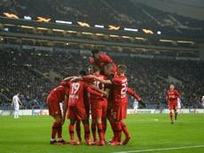 Históricos en sus Ligas, pero sin el título de la competición. AFP