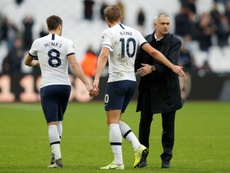 Mourinho habló sobre la mala dinámica del Tottenham fuera de casa. EFE