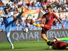 El United, el Inter o la Juventus siguen a Lorenzo Pellegrini. AFP