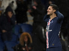 PSG asking for a price reduction for Icardi. AFP
