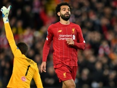 Mo Salah incertain pour le match contre Crystal Palace. AFP