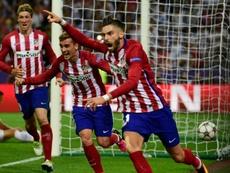 La réponse de l'Atlético de Madrid à Clattenburg. AFP