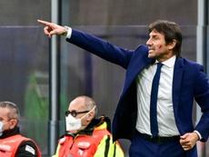 Antonio Conte cobriu a Juventus de elogios. AFP