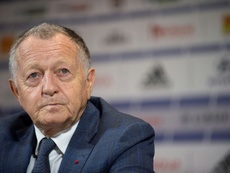 Aulas señaló el agravio que han sufrido los clubes de la Ligue 1. AFP
