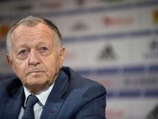 Lyon tenta reverter o encerramento precoce da Ligue 1. AFP