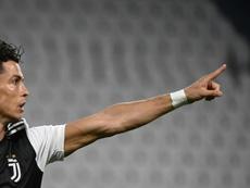 Pirlo confirmó la ausencia de Cristiano ante el Hellas Verona. AFP